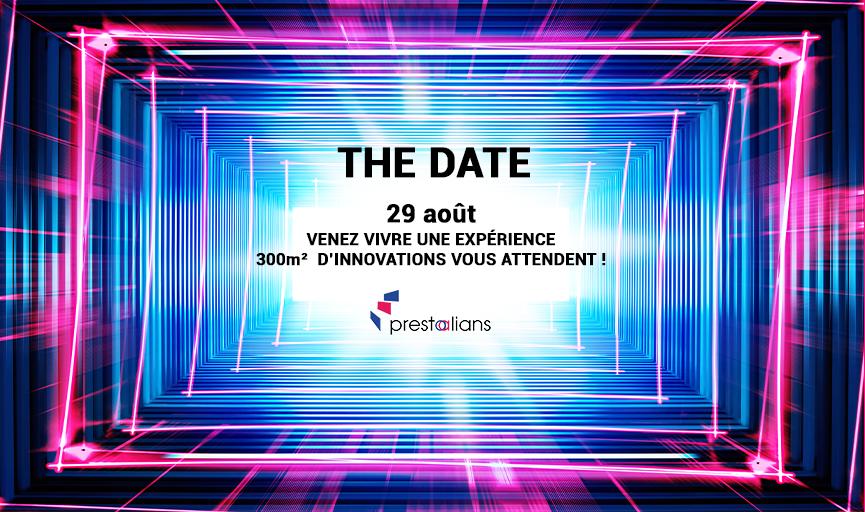 Affiche du Parcours Expérientiel, animation de l'événement THE DATE