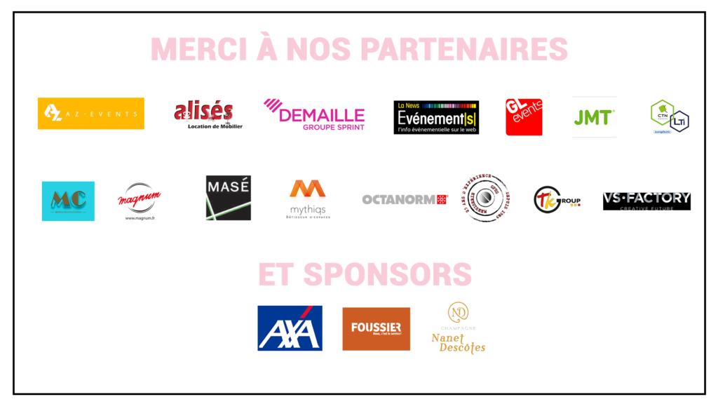 Liste des partenaires de THE DATE