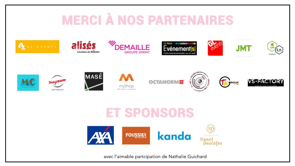 Partenaires de THE DATE 2019