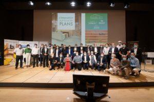 Lauréats des Trophées de la Construction 2020 sur scène